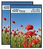 MCS 20x28 Inch Original Poster Frame 2-Pack, Black (65668)