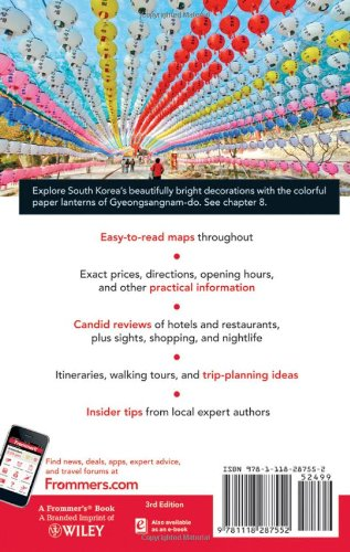 frommer s south korea frommer s complete guides cecilia hae jin