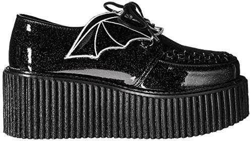 Demonia Dames Cre205 / Bgvy Fashion Sneaker Zwarte Glitter
