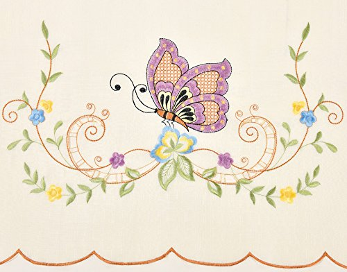 GOHD BUTTERFLY Multi color embroidery cutworks product image