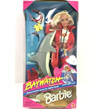BAYWATCH BARBIE Doll with Dolphin & Accessories 1994