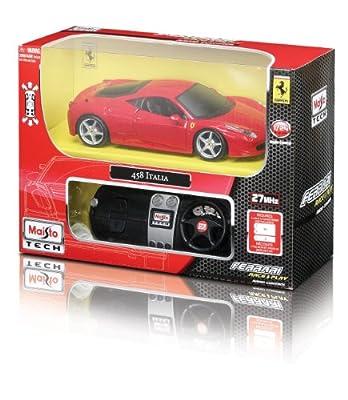 Maisto R/C Ferrari 458 Italia (Colors may vary)
