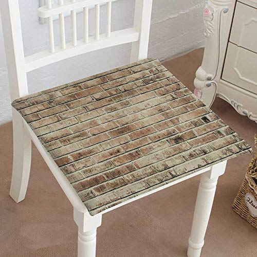 Mikihome Chair Seat Pads Cushions Brick wwith Cracks and Scr