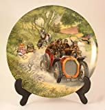 Wedgwood Wind in the Willows collector plate by Eric Kincaid Poop Poop CP748