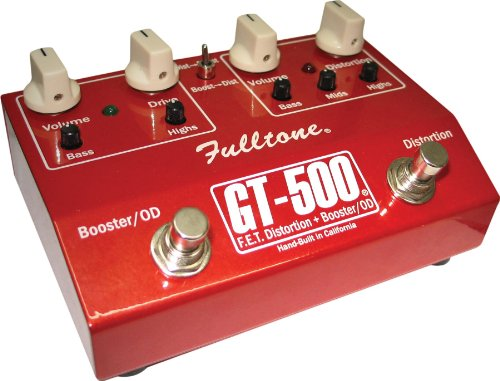 Gt500 Pedal (Fulltone GT-500 Distortion and Overdrive Booster)