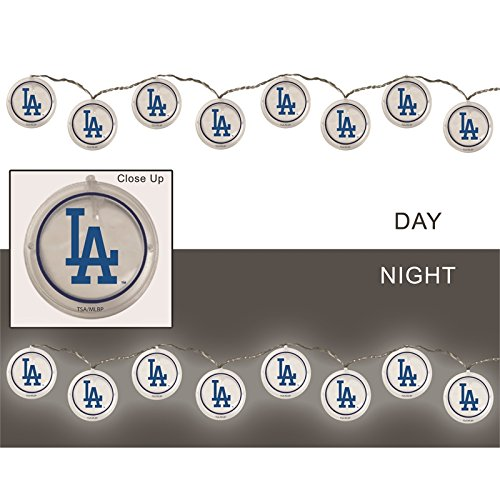 Team Sports America String Lights, Los Angeles Dodgers