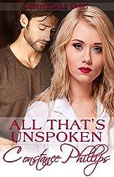 All That's Unspoken (Sunnydale Days Book 1)