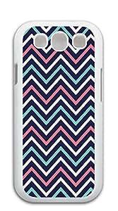 TUTU158600 Cute Cartoon Back Cover galaxy s3 case I9300 - Purple green red zigzag stripes
