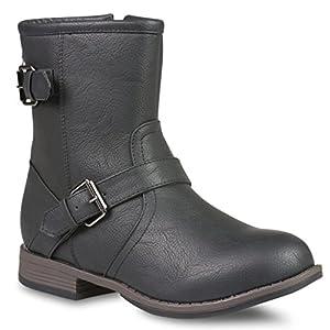 Twisted Women's Amira Short Buckle Strap Riding Boot - AMIRA68 Black, Size 9