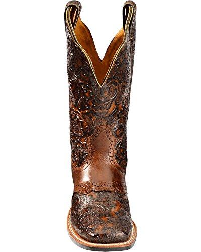 c American Boots Brown Walking normal 2050 Women 65 Cowboy Bo 6gwqFT