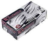 Liberty Glove & Safety 2016BK/XL Duraskin Disposable Glove, X-Large, Black (Pack of 100)
