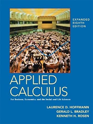 applied calculus for business economics and the social and life rh amazon com Applied Calculus 1500 Book Applied Calculus White Book