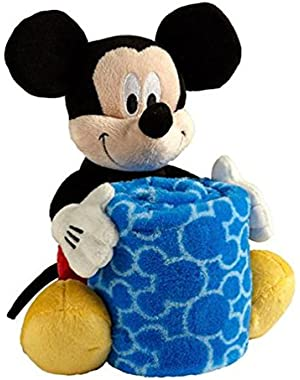 Mickey Mouse Plush with Blanket
