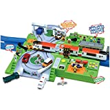 Plarail Play with Tomica! DX Railroad Crossing Station