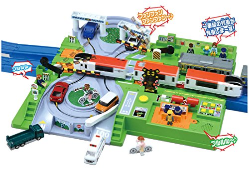 Plarail Play with Tomica! DX Railroad Crossing - Railroad Crossing Bell
