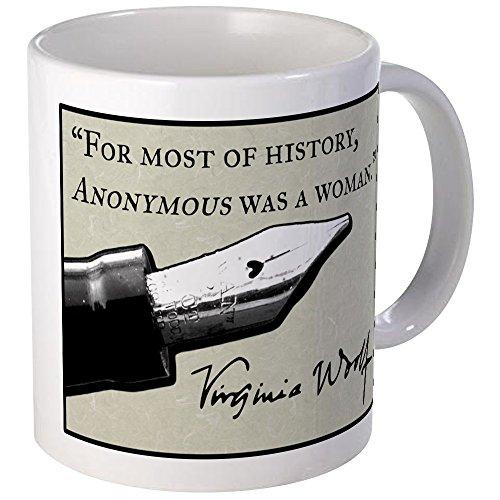 CafePress Anonymous Was A Woman Mug Unique Coffee Mug, Coffee Cup