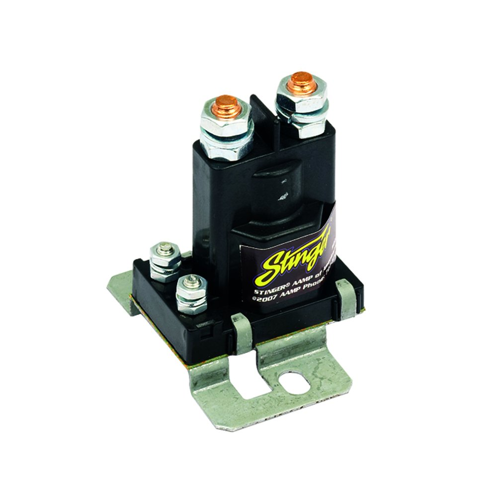 Stinger Sgp38 80 Amp Battery Isolator And Relay Car Utv Fuse Box Accessory Electronics