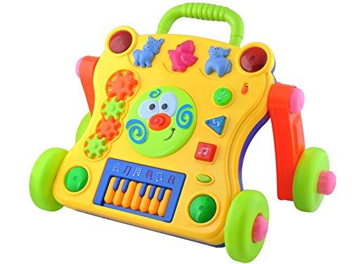 Aktiv Lauflernwagen Lauflerner Activity Walker Baby Lern Sound Laufhilfe #1492