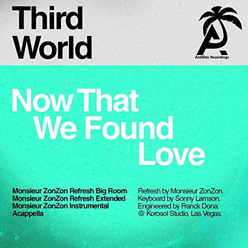 Now That We Found Love (Monsieur Zonzon Remixes) (Third World Now That We Found Love)