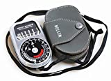 WESTON MASTER III LIGHT METER MODEL 737 W/ CASE/STRAP