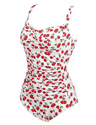 Pool One Per Costumi Sport Bianco Beach Imposes Swimwear Bikini Donna amp;rosso Bagno Da Piece ABqZU