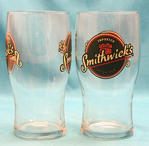 Smithwicks Ale - Smithwicks Irish Ale 6in Tulip Glass Set Of 2