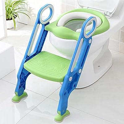 Astounding Amazon Com Toddler Toilet Seat Step Potty Training Seats Bralicious Painted Fabric Chair Ideas Braliciousco