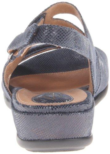 Clarks Mujeres de Tiffani Aldora sandalias de cuña Azul