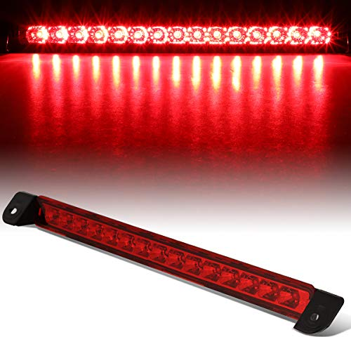 Red Housing Full LED Third 3rd Tail Brake Light Stop Lamp for Nissan Pathfinder Infiniti QX4 01-04