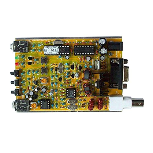 Kit Mite (8W DIY 51 Super Rock Mite RM Kit CW Short Wave Ham Radio Telegraph Transceiver Practical Integrated Circuits 7.023MHz 12V)