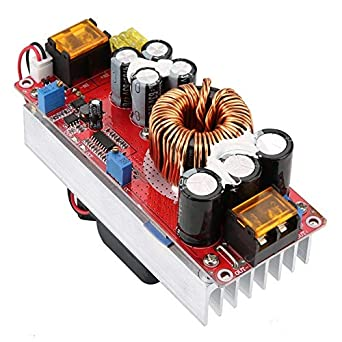 DC-DC 10-60V to 12-97V 1500W 30A Voltage Converter Boost CC CV Power Supplies Module Boost Converter,DC-to-DC Power Converter Step Up Module