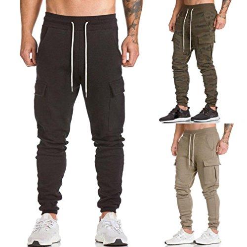 965d89f442 TOOPOOT Men Sweatpants,Cargo Work Trousers Jogger Basic Sportwear Jogging  Outdoor Pants