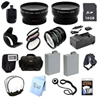 Advanced Professional SLR Kit: for Canon EOS Rebel T2i T3i T4i 650D 550D Cameras