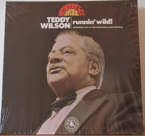 Teddy Wilson: Runnin' Wild - Recorded Live At The Montreux Jazz Festival [Vinyl LP] [Stereo] [British Import Pressing] by Black Lion (UK)