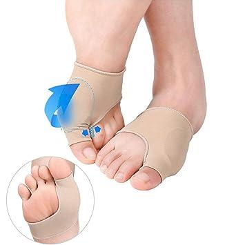 Protector de juanetes/Almohadilla de gel/Mangas para aliviar el dolor para juanetes Hallux Valgus: Amazon.es: Salud y cuidado personal