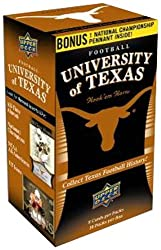 Celebrate the history and tradition of Texas Longhorn Football with the most comprehensive trading card set ever produced for UT! Commemorate the Longhorns' four National Championships and monumental moments in history with collectible trading cards!
