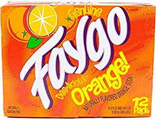 product image for Faygo Soda Orange 12-ounce 12-pack cans (pack of 1)