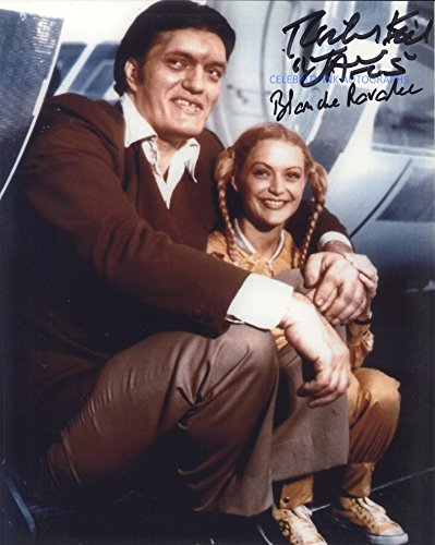 Richard Kiel and Blanche Ravalec as Jaws and Dolly (Moonraker) – Autograph