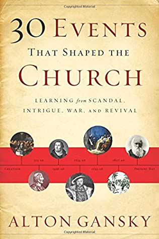 book cover of 30 Events That Shaped the Church