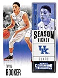 Devin Booker basketball card (Kentucky Wildcats Phoenix Suns star 70 Points) 2016 Panini Contenders #29
