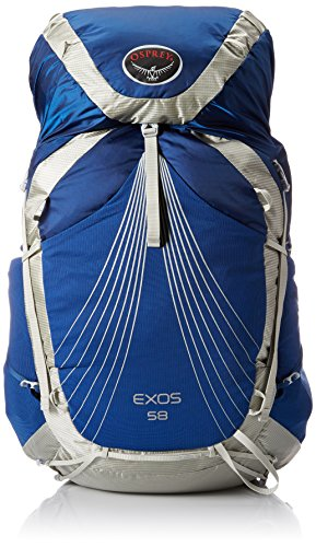 Osprey Packs Exos 58 Backpack, Pacific Blue, Medium