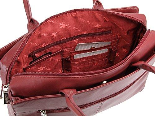 Visconti - Bolso al hombro para mujer rojo - rojo