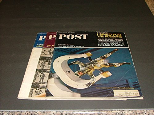 3 Iss Saturday Evening Post May 22, July 17, September 11, 1965 Selma March