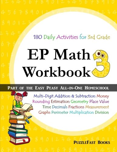 EP Math 3 Workbook: Part of the Easy Peasy All-in-One Homeschool ...