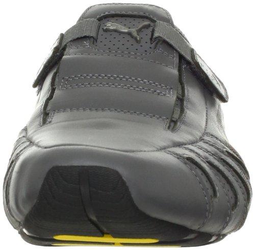 Puma Mens Vedano Läder Loafer Stålgrå