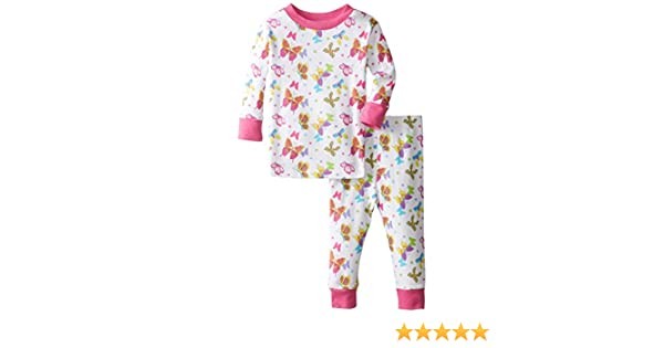 8a7595781 Amazon.com  New Jammies Baby Girls  Organic Cotton Pajama Set ...