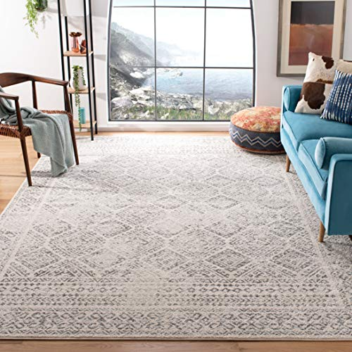 Safavieh Tulum Collection TUL264A Moroccan Boho Distressed Non-Shedding Stain Resistant Living Room Bedroom Area Rug, 9…