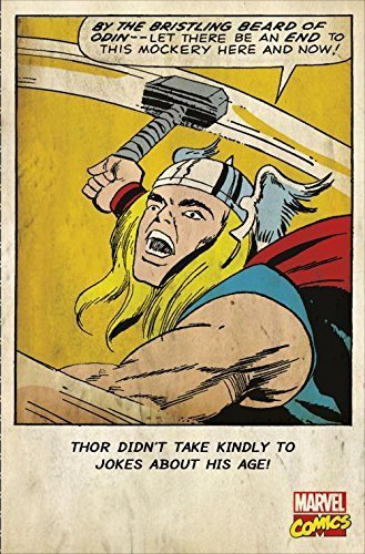 Thor Didnt Take Kindly To Jokes About His Age Birthday Card Marvel