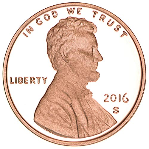 2016 S Lincoln Shield Cent Gem Deep Cameo Proof Penny
