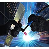 Heat, CUT, Flame Resistant Under Gloves for WELDING by Silach, PAIR, Versatile, sizes M-XXXL, KEEP YOUR HANDS SAFE from BURNS and CUTS!